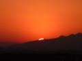 『日の出』♯琵琶湖