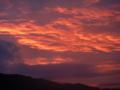 夕焼け・琵琶湖