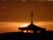 朝焼け#琵琶湖文化館