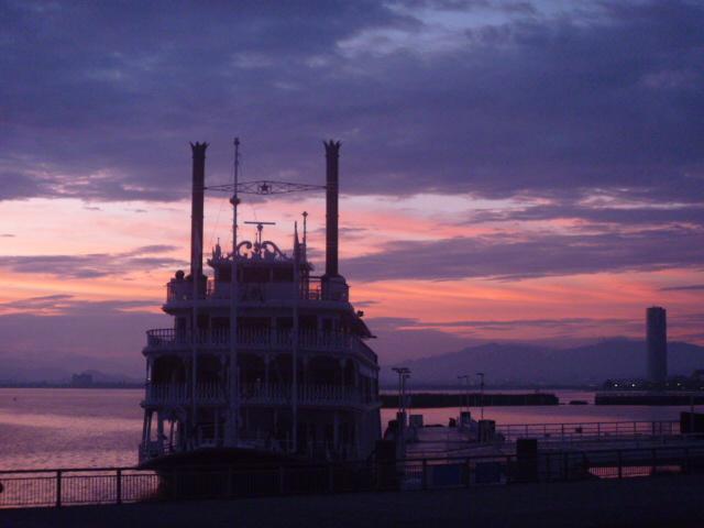朝焼け#琵琶湖