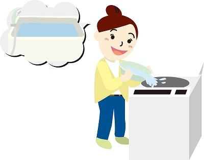 家庭で出来る節水方法,節水,水不足,断水,洗濯での節水方法
