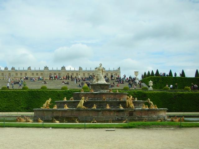 ベルサイユ宮殿の景色
