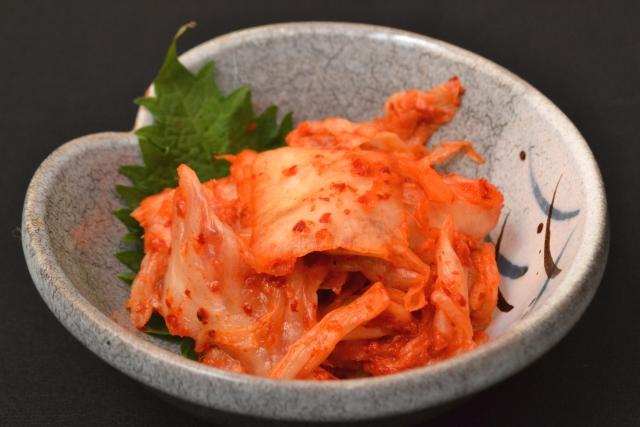 代表的な発酵食品キムチ