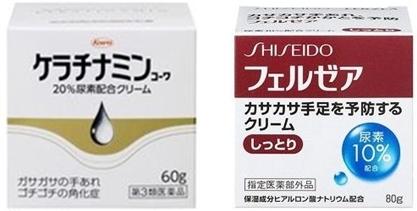 尿素尿素配合ハンドクリーム