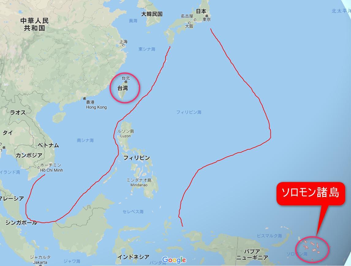 中国の魔の手に落ちたソロモン諸島…押さえておきたい3つのポイントの画像