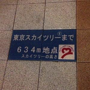 東京スカイツリービュー通りプレート