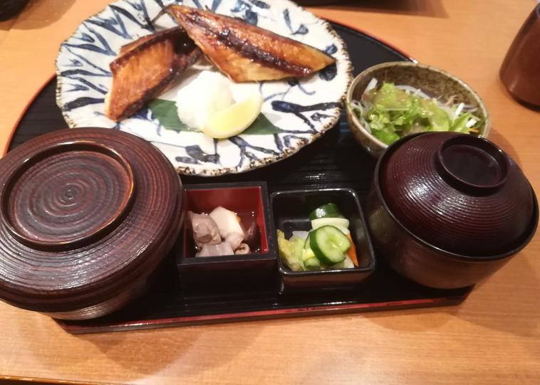 最高に美味しい方舟の焼き魚!