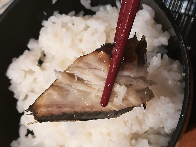 方舟 川崎ラチッタデッラ店 本日のお魚ご膳(さばとご飯)
