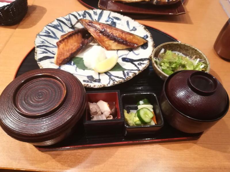 方舟 川崎ラチッタデッラ店 本日のお魚ご膳(サバ)