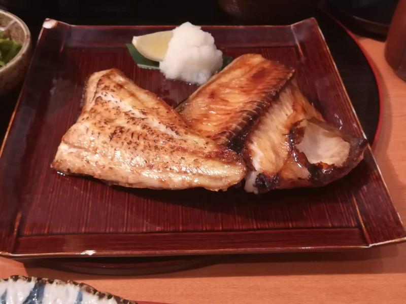 方舟 川崎ラチッタデッラ店 本日のお魚ご膳(ほっけ)