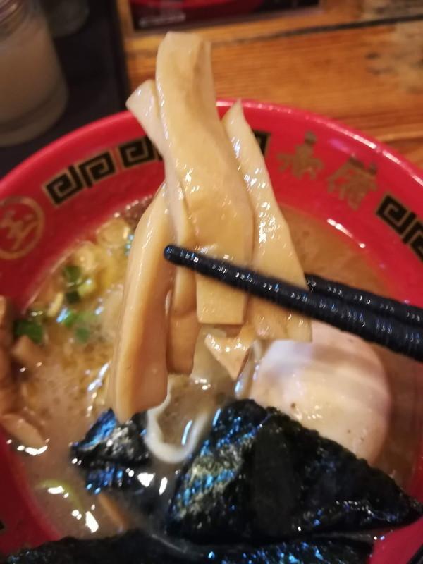 玉 赤備 豚鶏つけ麺 メンマ
