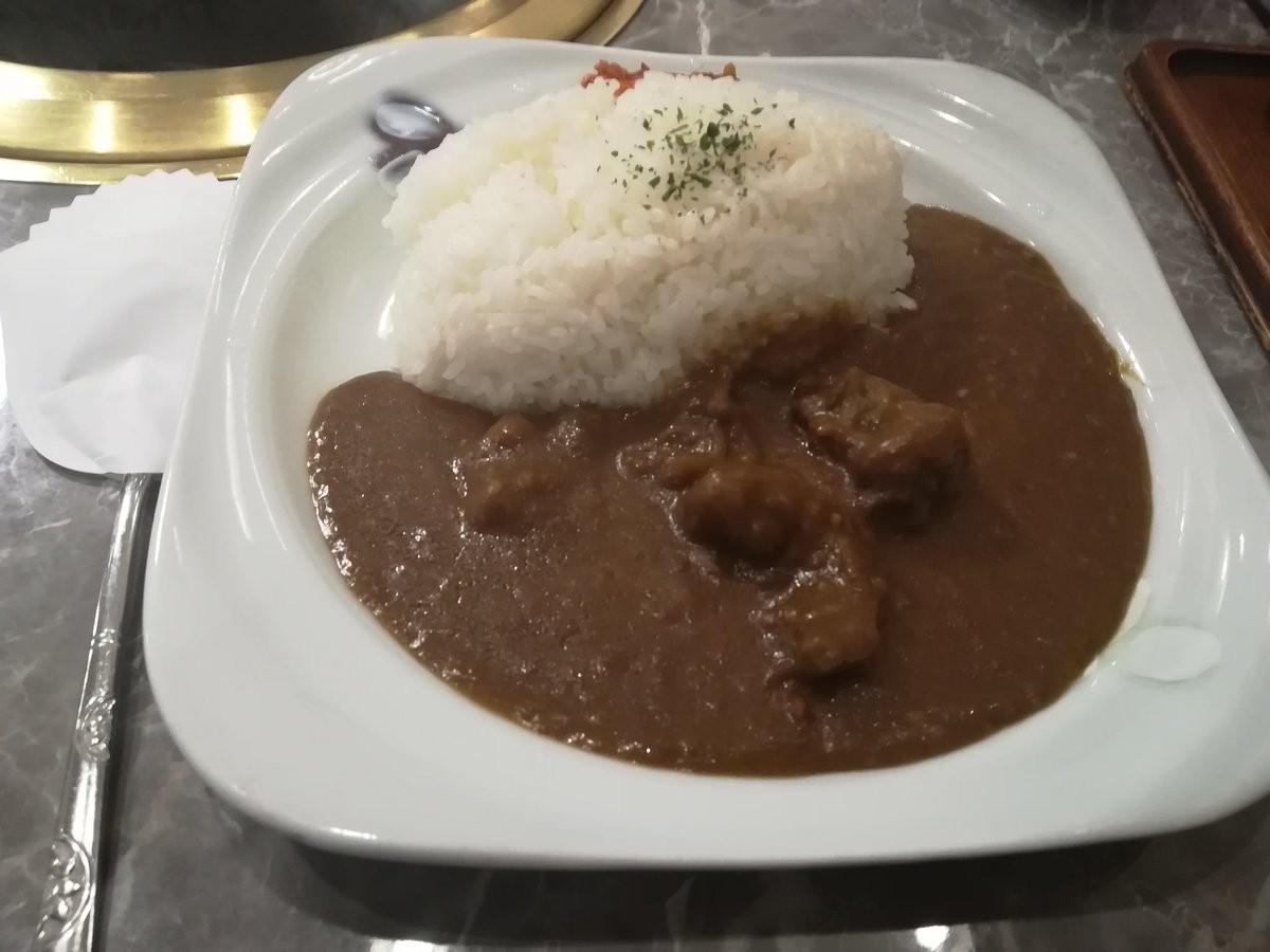川崎駅東口、食道園の昔ながらのカレーは美味い
