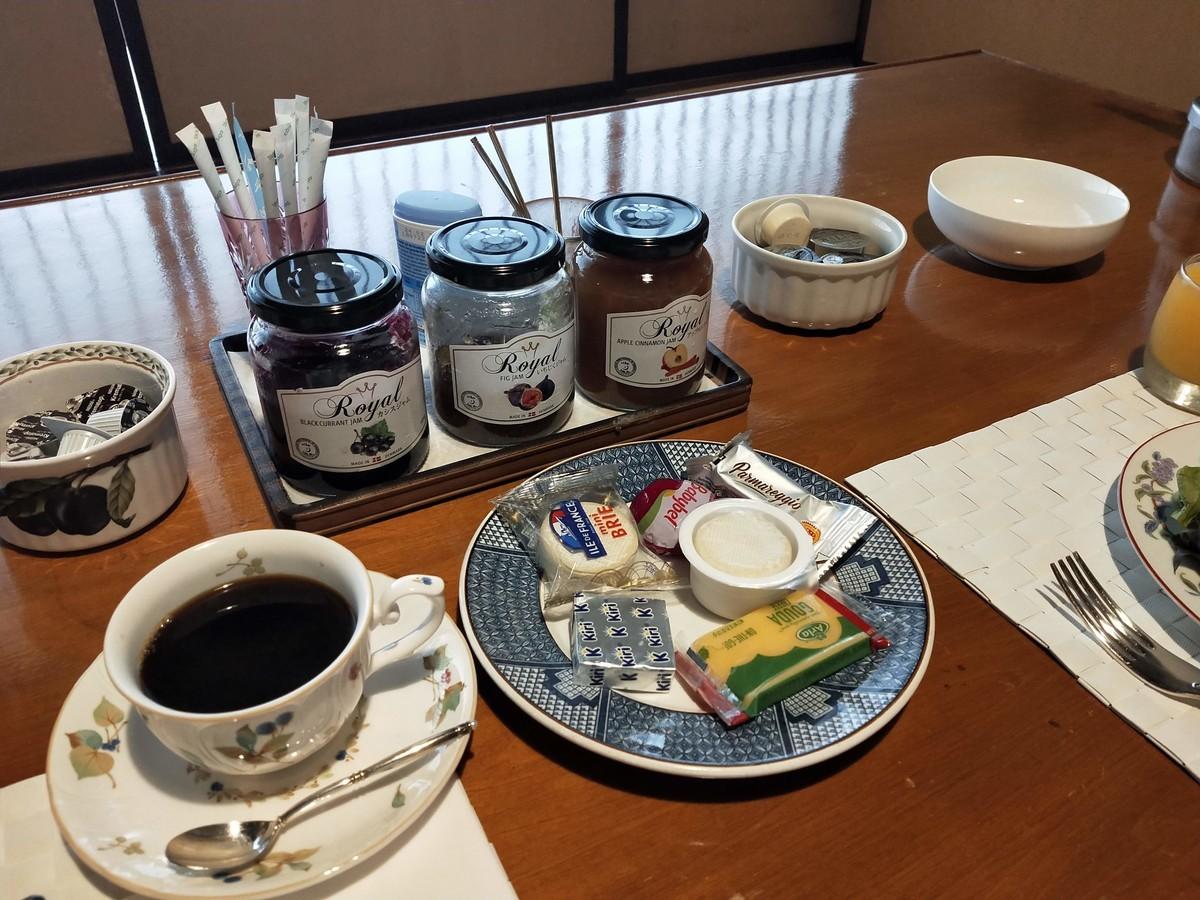 湯河原の清光園の朝ごはん! 素敵な洋食!