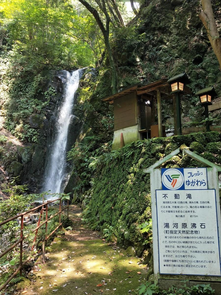 湯河原の不動滝!
