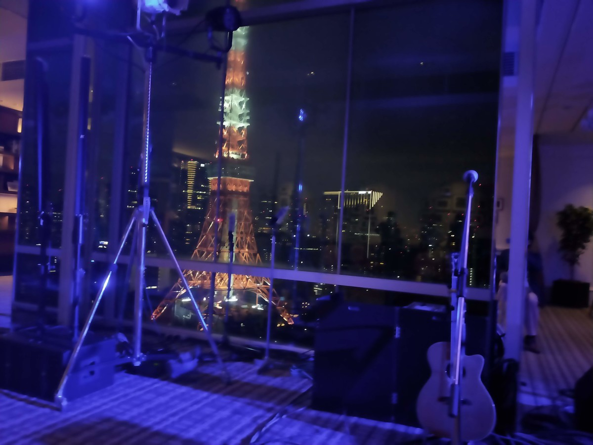 ザ・プリンス パークタワーのライブ会場(ミッドナイトライブ)