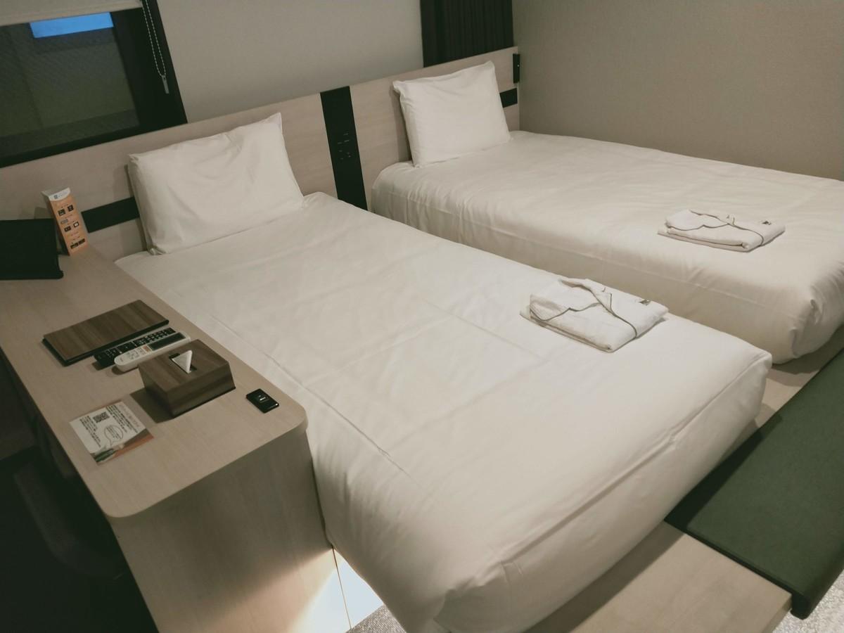 変なホテル東京 浅草田原町の客室(ツイン)