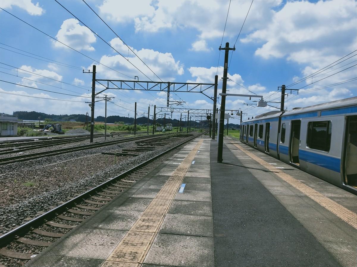 日本の夏(常磐線)