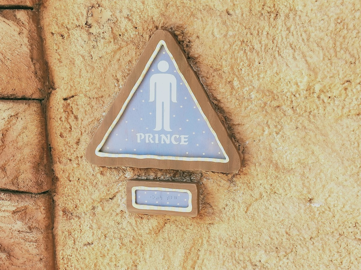 ディズニーシー アラジン・アラビアンのトイレのマーク