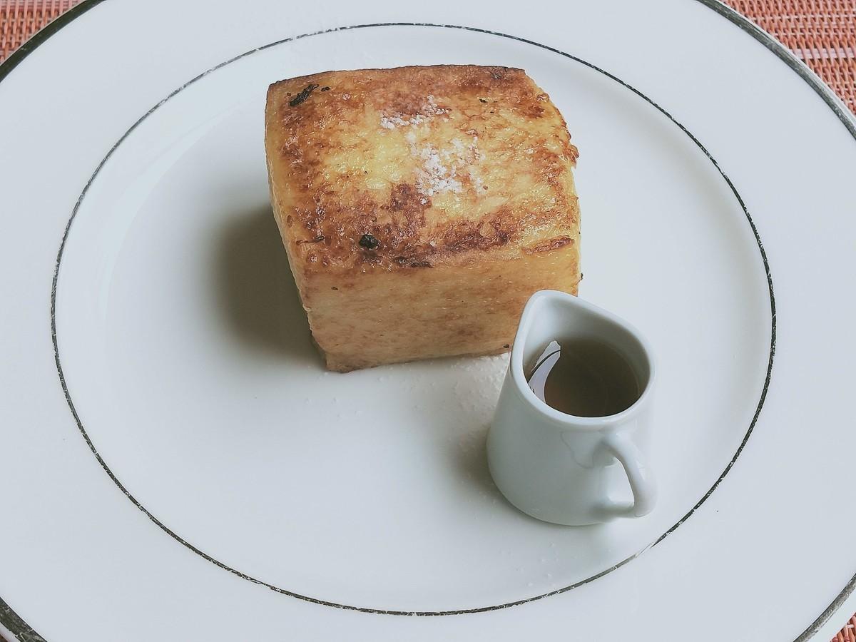 ホテルオークラ東京ベイのモーニング! 朝ごはんのフレンチトースト