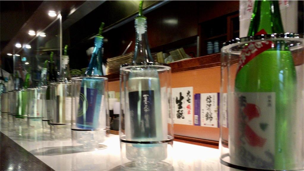 「日本酒きき比べの会」体験レポの画像