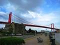 [北九州]若戸大橋。若松側から