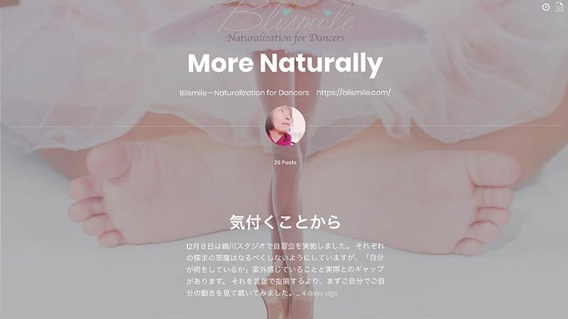 More Naturally