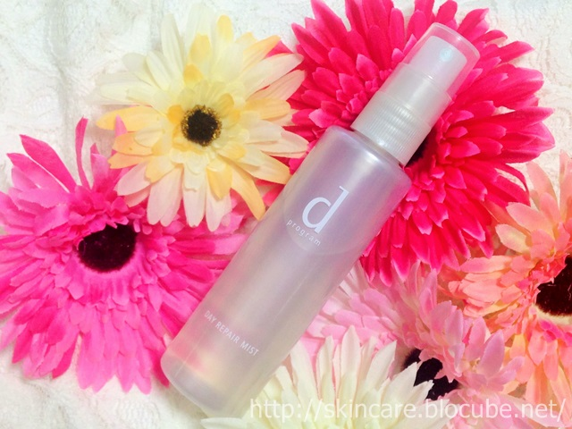 ミスト化粧水のおすすめはコレ!dプログラム デーリペアミスト