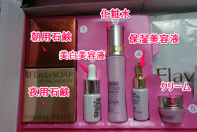 フラバンジェノールの美容液化粧水クリーム