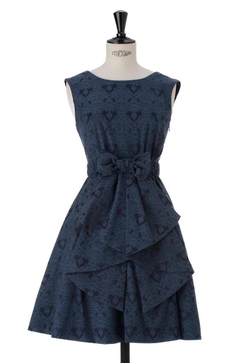 ジャガードドレス
