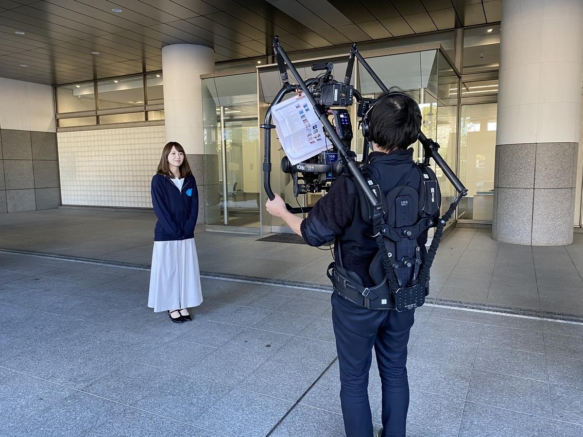 「東京府中データセンター」のプロモーション動画を撮影しました