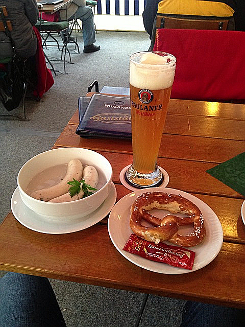 ドイツといえばビールとソーセージ