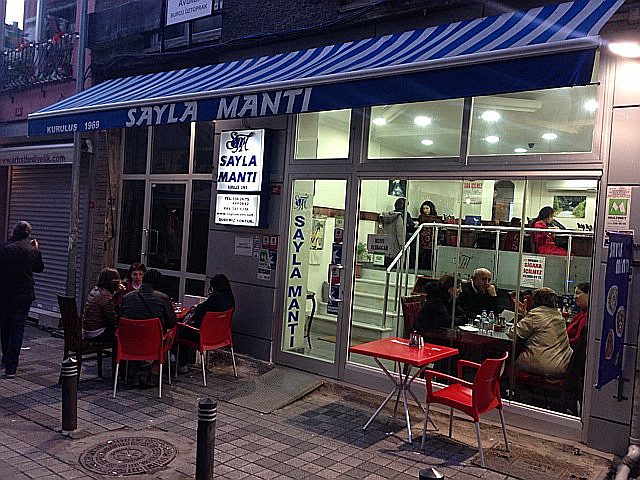 トルコの水餃子「マンティ」の専門店
