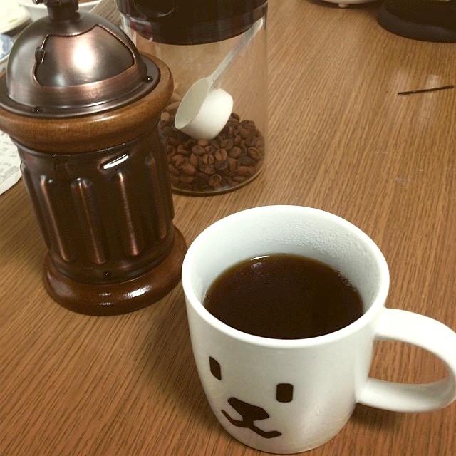 私がいま使用しているミルとカップ