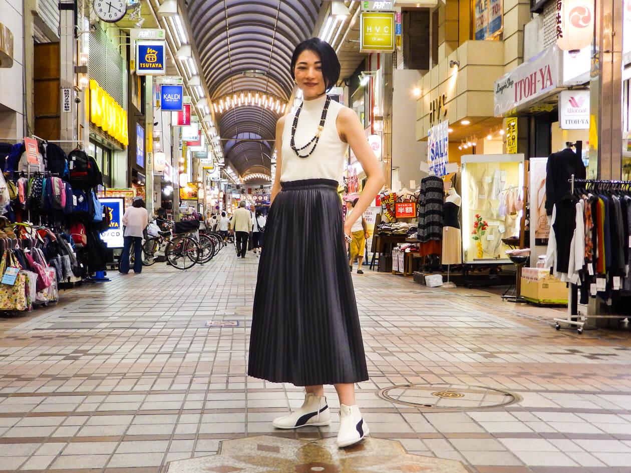 武蔵小山商店街の老舗靴屋で、自分らしい「スニーカー」を発見する