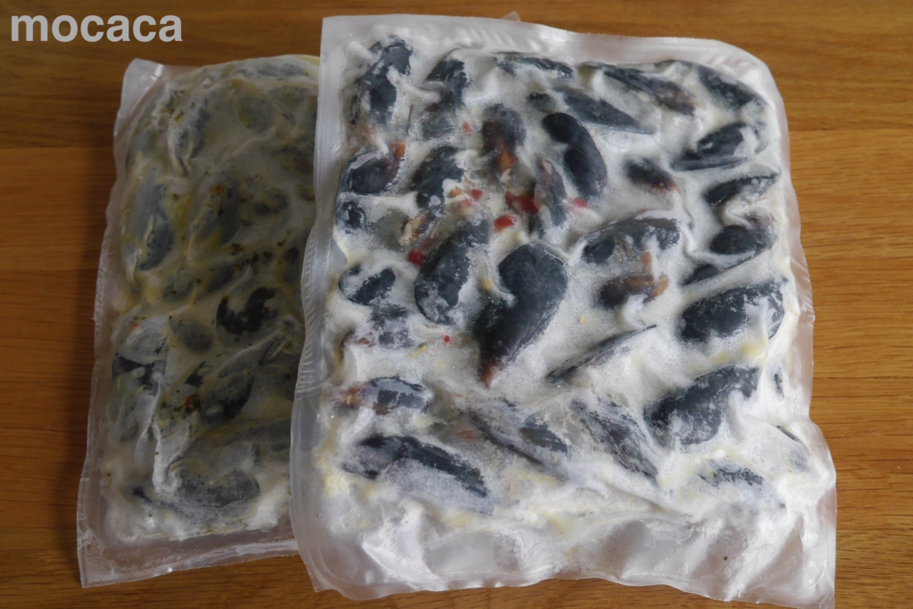 カマンチャカ ムール貝 バターガーリック味(冷凍)