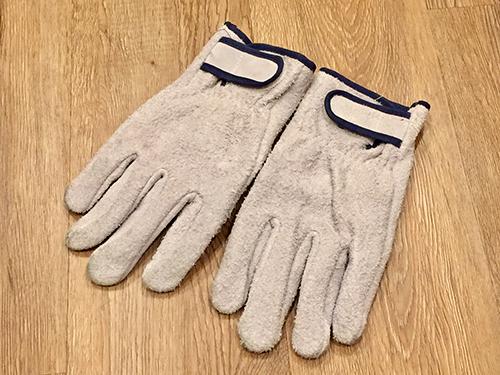ハリネズミを触るには手袋が必要