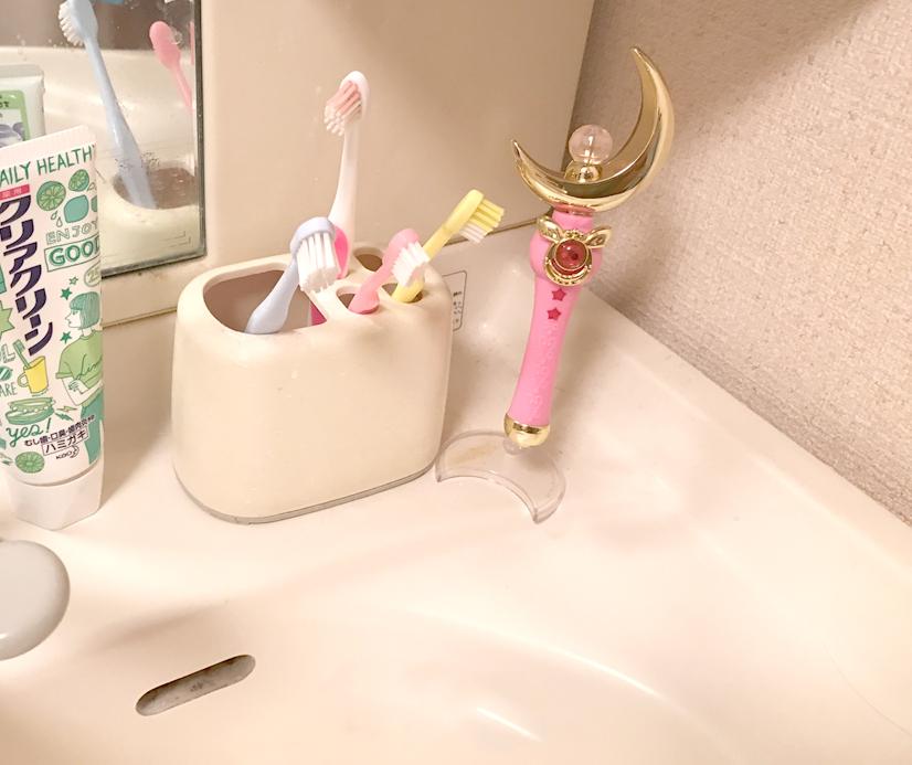 洗面台のムーンスティック