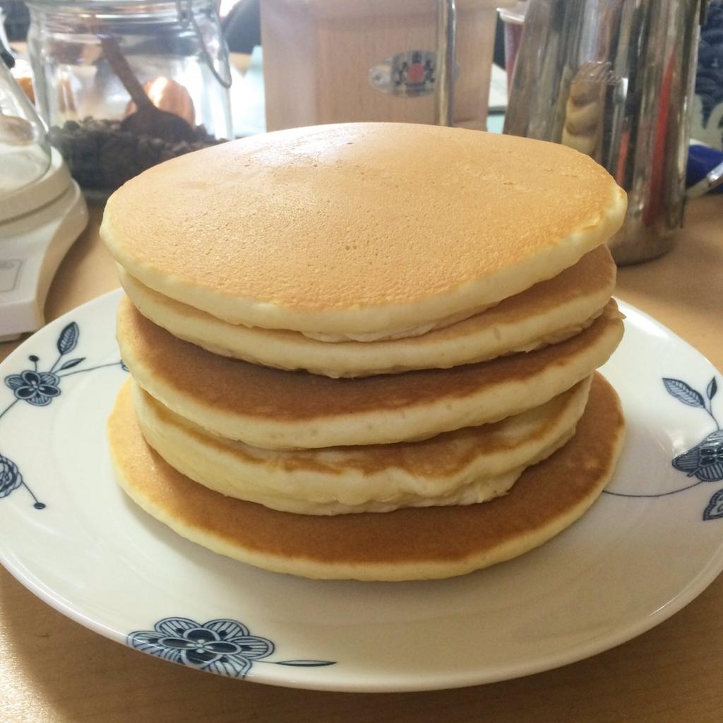 参考:オヅキスが作ったホットケーキ