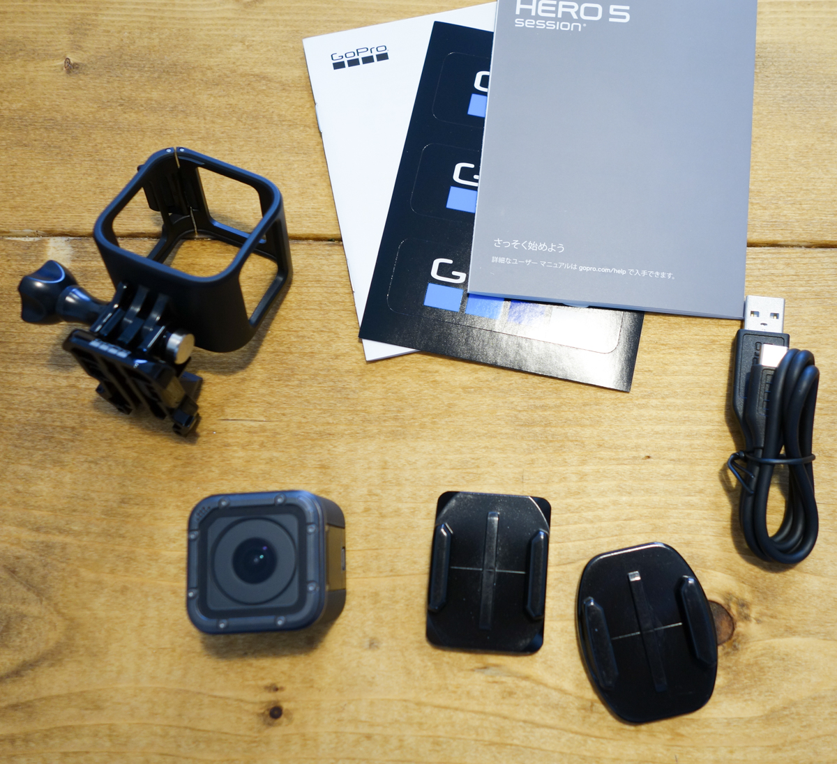 GoPro HERO5 Session付属品