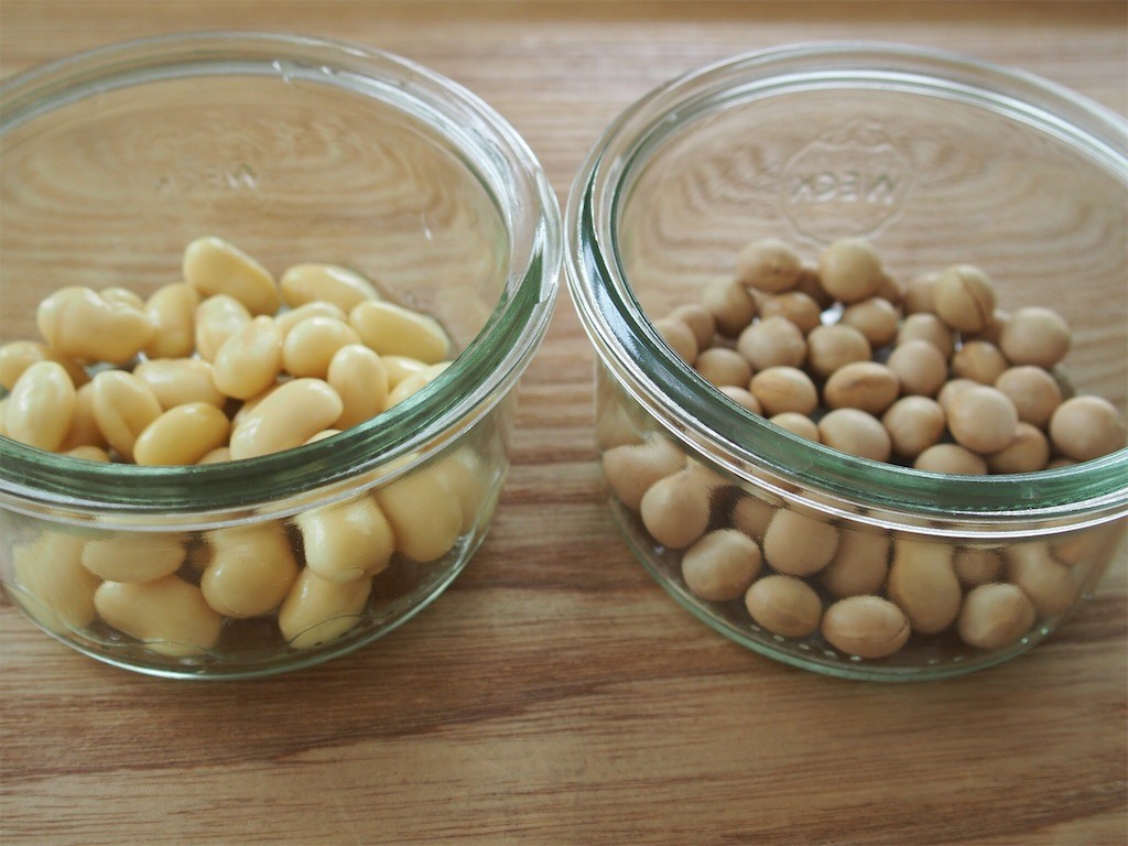 乾燥豆だって、かじれるほどに柔らかくなる。つくり方は次の通り。