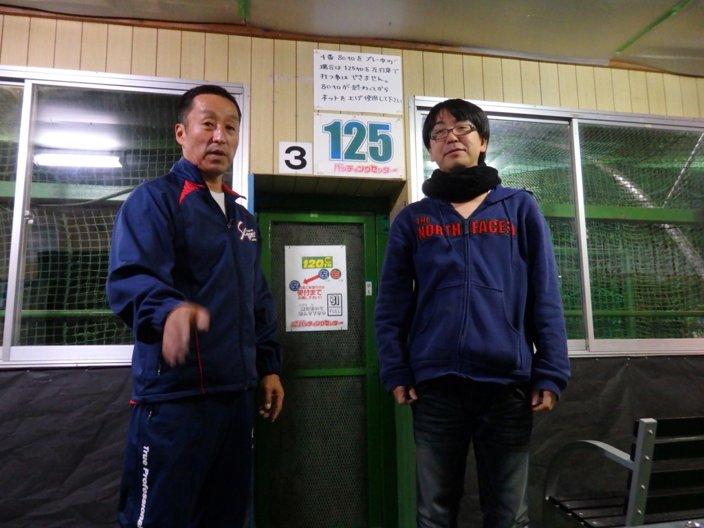 陸前高田から一関へ、自力で店を移転させた小山功さんとツーショット