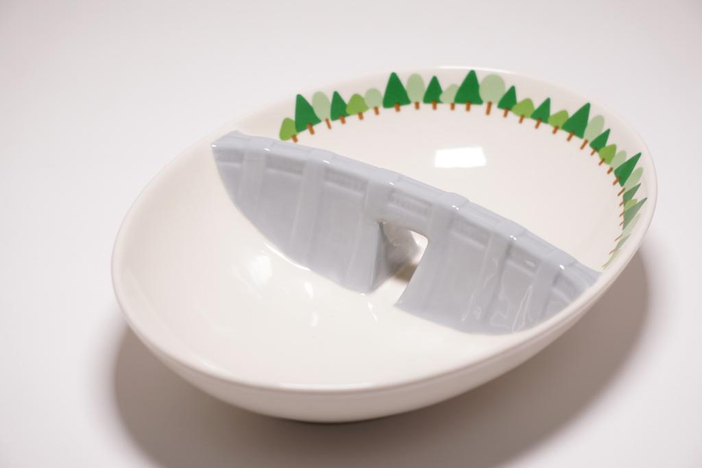 ダムカレー皿