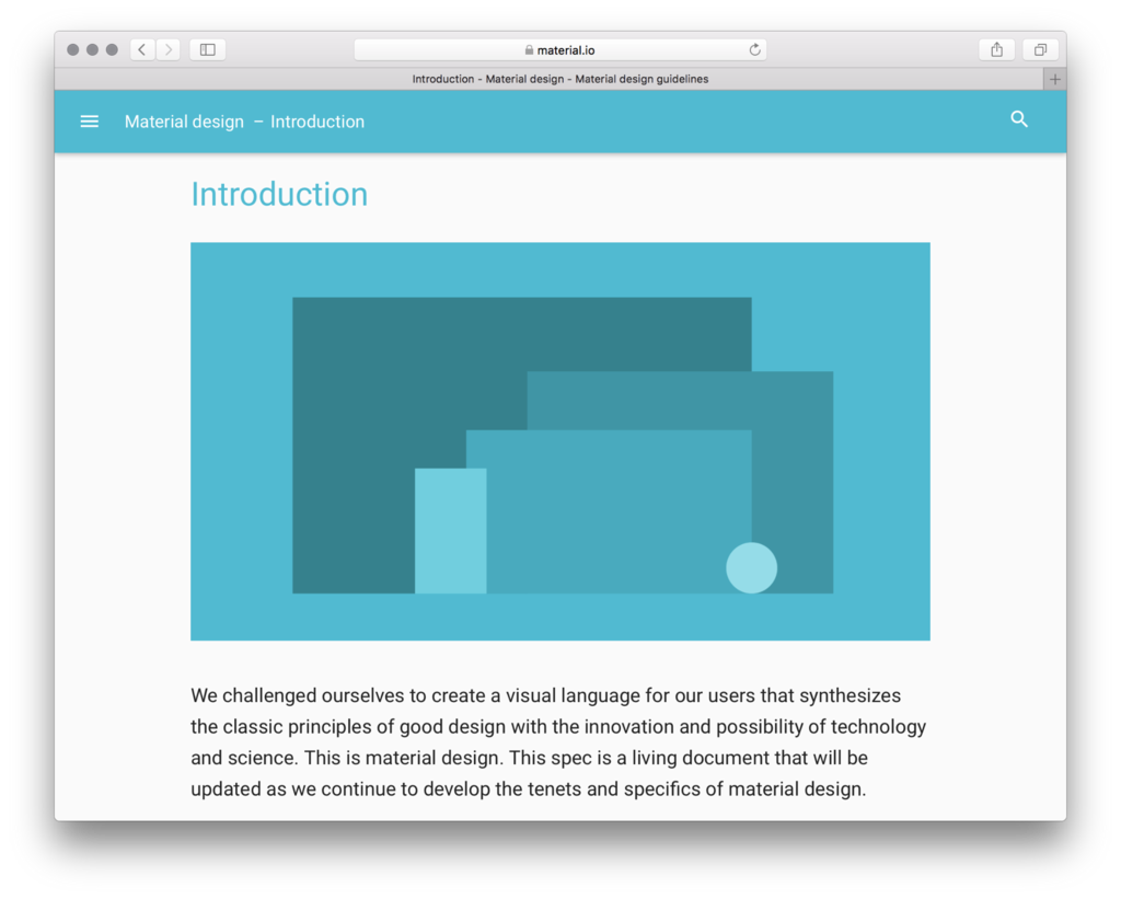 Google: Material Design Guidelines