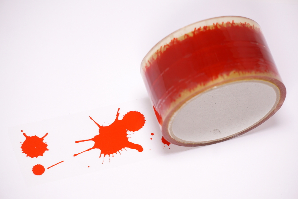 血痕デザインパッキングテープ