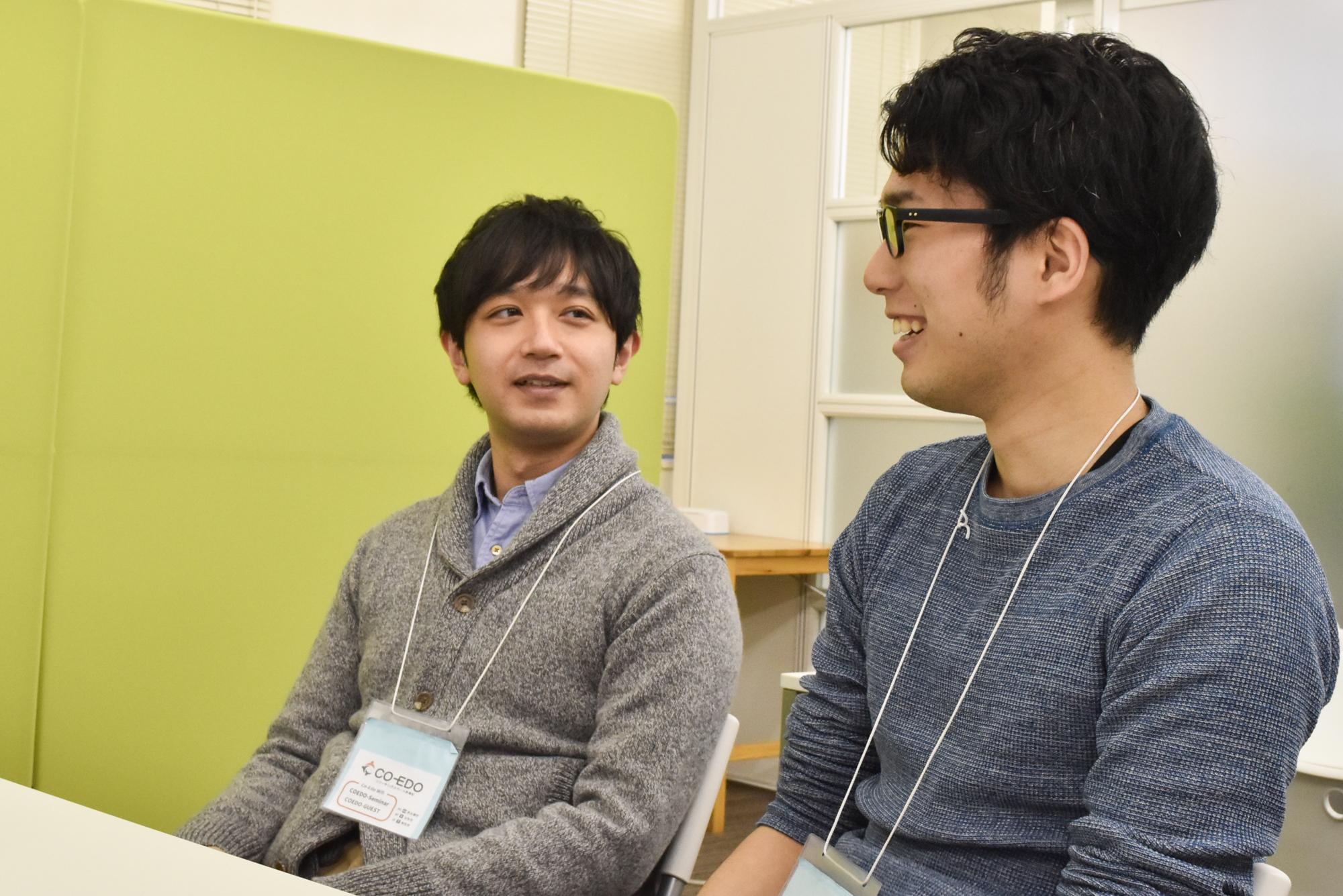 鈴木さんと石川さん