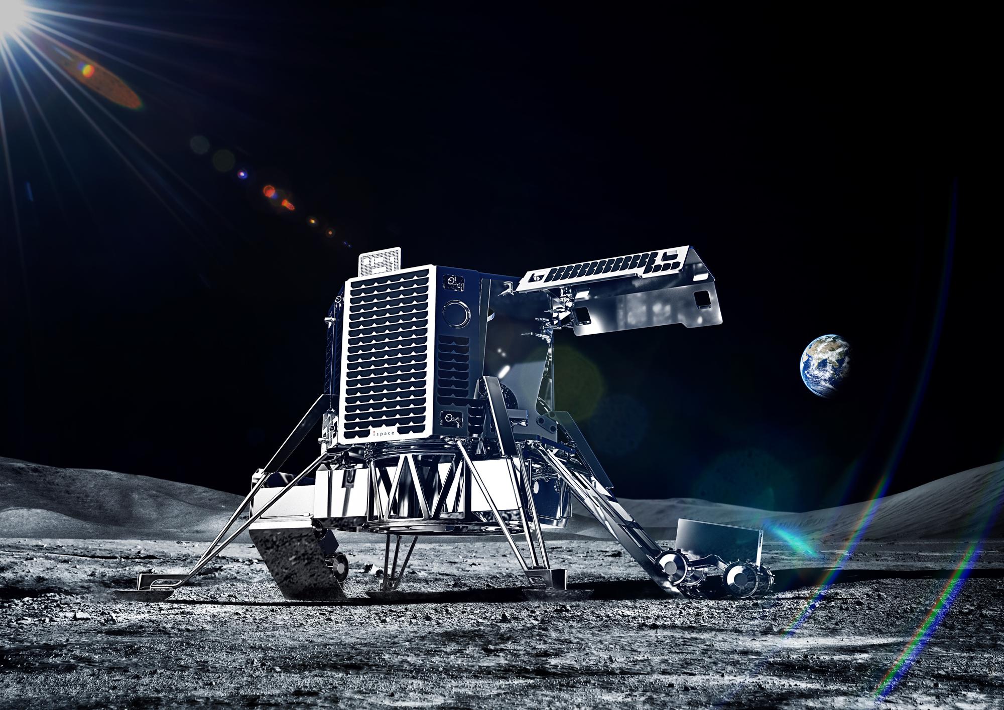 月ランダー(CG)