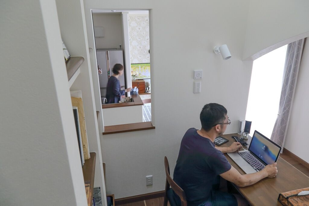 自宅の書斎