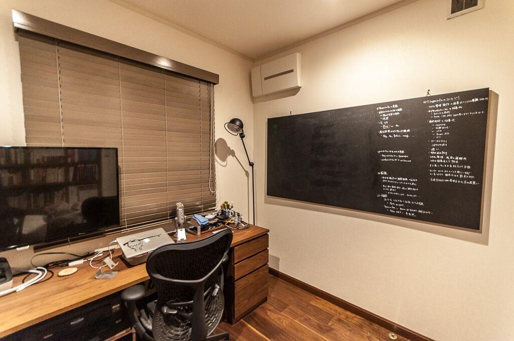 ブレストに使用する黒板