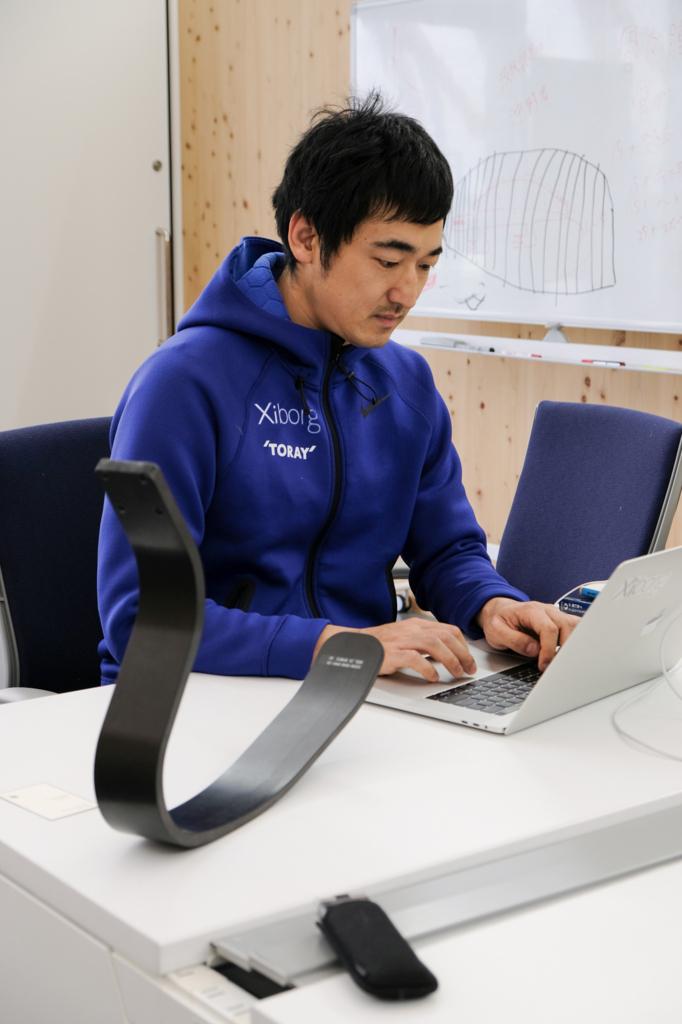 Xiborg代表取締役の遠藤謙さん