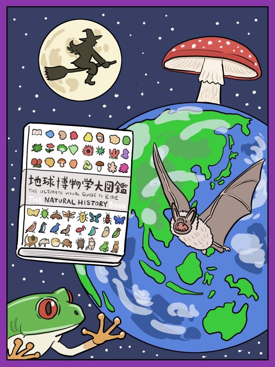 1万円で地球上の森羅万象が学べる 『地球博物学大図鑑』で、憧れの魔女を目指そう
